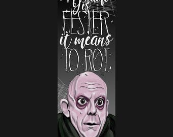 Fester - Double Sided Bookmark