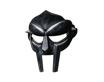 Gladiator face mask Mf Doom Mask Larp Sca mask MF DOOM