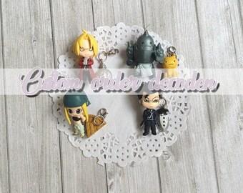 Decoden custom case [Made to order] - Full metal Alchemist (Prop Plus Petit, Bandai) figure
