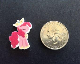 5pc mini My Little Pony pinkie pie planar flatbacks