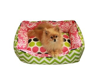 Create your own reversible pet bed!  Flip it for a New Look