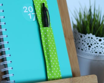 Brand-Page/pencil holder dots Green