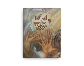 Reaching butterflies