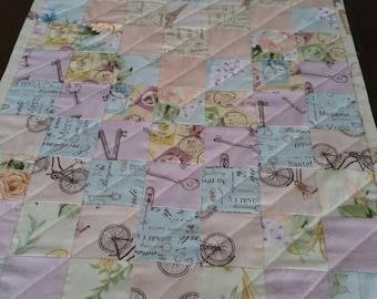 Quilted Table Runner, Sweet Reverie by Boundless Fabrics, Table Topper, Table decor, Handmade, Centerpiece, Coffee Table, Runner