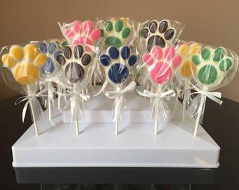 Paw Patrol Chocolate Lollipops