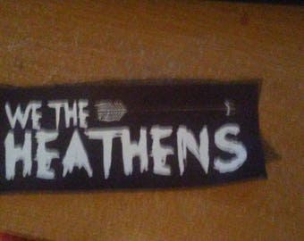 We The Heatens Patch
