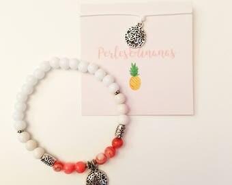 """""""Dollarsand"""" bracelet and anklet"""