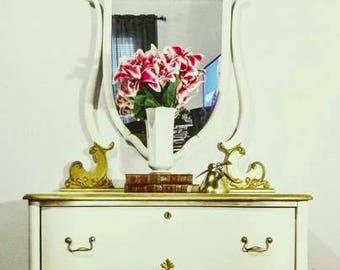 Glamorous Jean Harlow Dresser