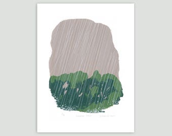 Summer Rain Screen Print – Limited Edition