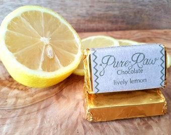 Pure Raw Chocolate - Lively Lemon