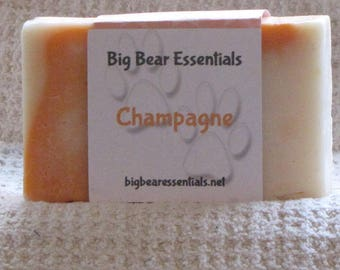 Champagne Scented Handmade Soap