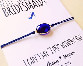Will you be my Bridesmaid? • Bridesmaid proposal • Wedding favor • Asking gifts