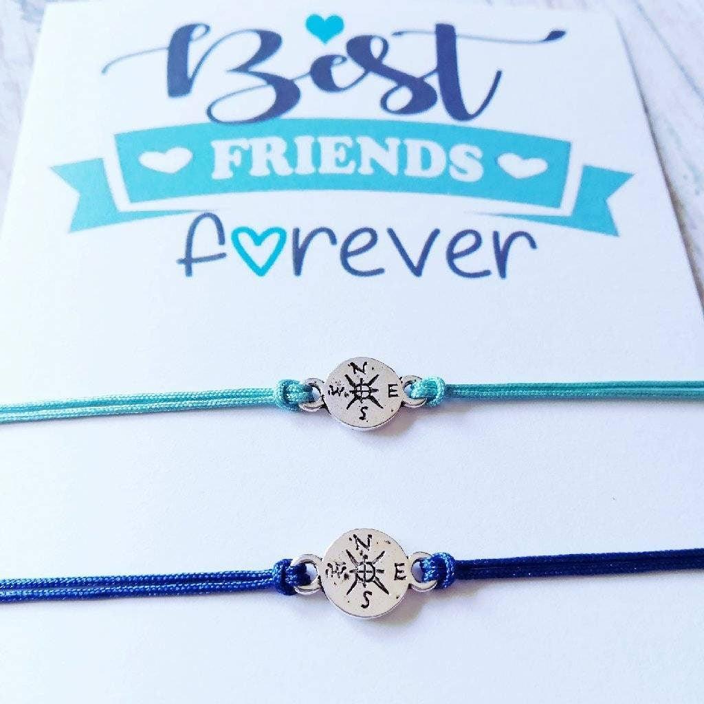 Best Friends Bracelets Friendship Bracelets Best Friend Gift Gift