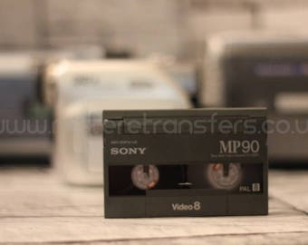 Digital8 Camcorder Video Tape Transfer to DVD