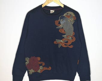 Hot Sale!! Rare!! vintage Strange Sweatshirt  Size Medium Active Wear