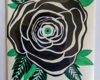 Deadly Rose Print