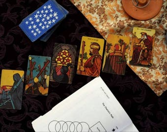 16 Card Tarot Reading (via email)
