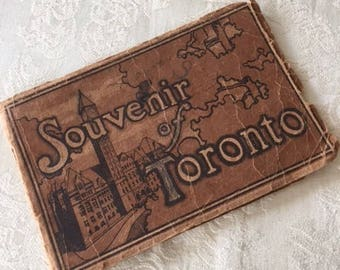 Vintage Souvenir of Toronto Booklet Early 1900s