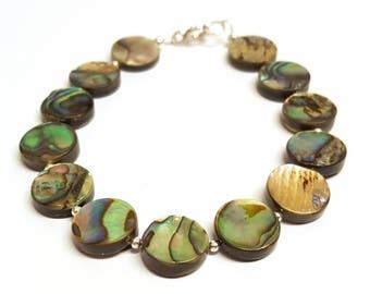 Abalone Bracelet, Mermaid Bracelet, Paua Abalone, Statement Bracelet, Abalone Shell, Abalone Jewellery, Paua Bracelet, Paua Shell Bracelet