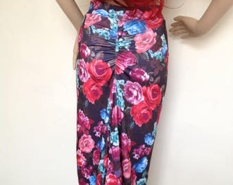 Argentine tango skirt in large size