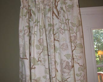 Pair of Pinch Pleated drapes  FREE SHIPPING!