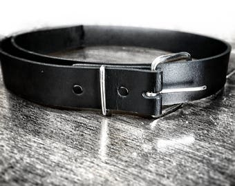 Genuine Leather Belt Hand Made in Overbrook KS, USA