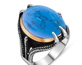 osmanische 925 Silver ring Ottoman ring ottoman jewellery osmanischer schmuck muslim ring turkish rings men