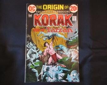 Korak: Son of Tarzan #49 D.C. Comics 1972