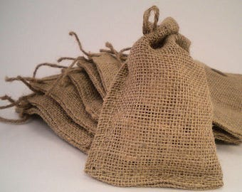 Burlap Bags | Satchel Bags | Great for Gifts Bags | Burlap Gift Bags