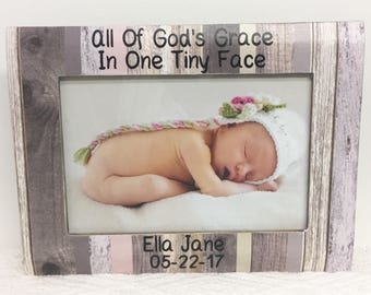 Baby frame, personalized frame, personalized baby, ultrasound frame, sonogram frame, new baby frame, son frame, daughter frame
