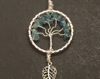 Blue Crystal Tree of Life