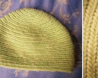 Needle-bound cap 48-50 cm Naalbinding needle binding Viking Celts Larp