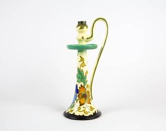 Dutch Plateel candlestick - Gouda Holland