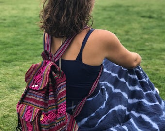 Mexican Hand Woven Backpack