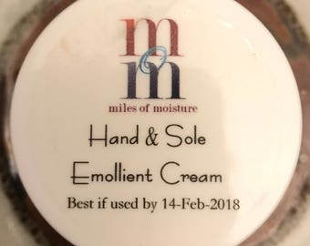 Hand and Sole Cream | All Natural Hand and Sole Cream, Emollient Cream
