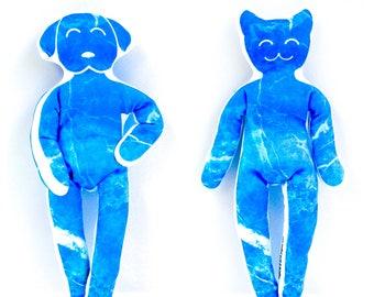 Yoga Cat and YogaDog Ocean Toys for Children