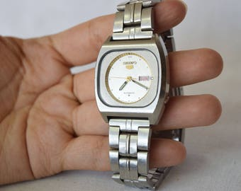 Vintage Seiko Watch, Seiko 6309 6030, Vintage Men's Watch ,Collectible Watch, Made In Japan , Seiko Automatic Watch, NOT WORKING
