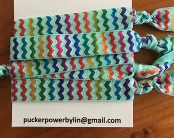 Striped Hair Tie