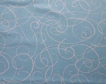 Dashwood Ran or Shine sky 100% cotton fabric 44 inch / 110cm