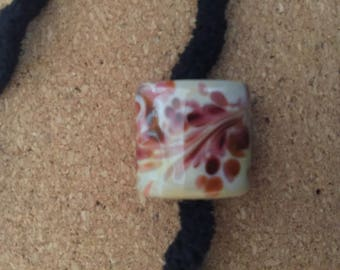 Rose Petals OOAK Lampwork glass bead set MAG