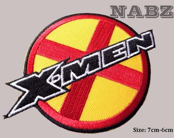 X Men Embroidery iron sew on Patch Badge