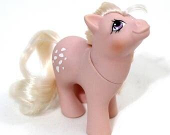 Baby Cotton Candy, Non-Beddy Bye Eye, Original, G1, My Little Pony, Vintage, 80s