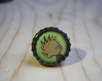 Calvin and Hobbes pin 1