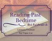 Fiver Friday Special - Reading Past Bedtime - Scented Soy Candle