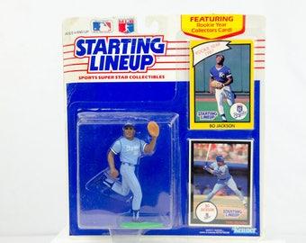Starting Lineup 1990 Bo Jackson Action Figure Kansas City Royals