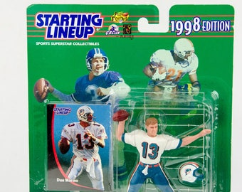 Starting Lineup 1998 NFL Dan Marino Action Figure - Miami Dolphins