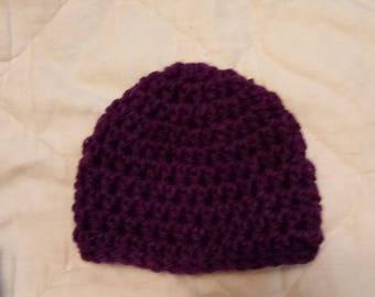 Mid-ear length hat