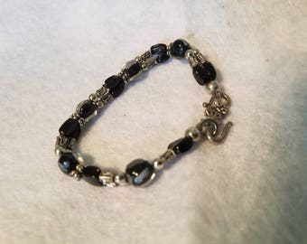 Beaded and pretty bracelet