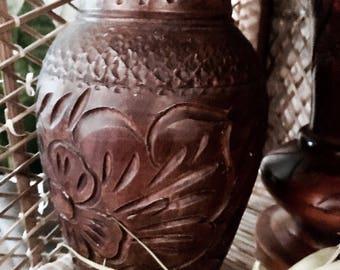 Pottery vase   Vintage vase