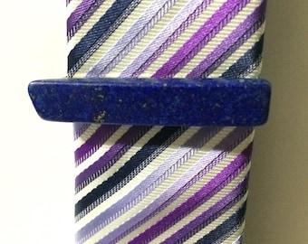 Lapis Tie Clip